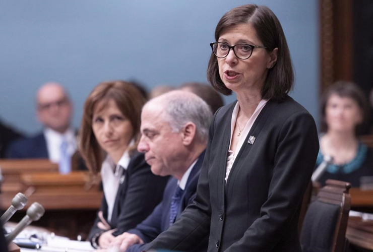 Quebec Health and Social Services Minister Danielle McCann,