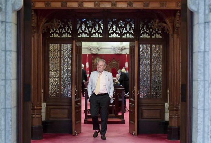 Senator Peter Harder, Government Representative,