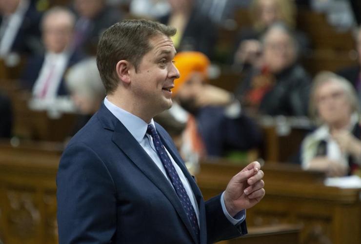 Leader of the Opposition, Andrew Scheer,