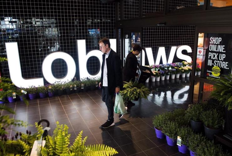 Loblaws store, Toronto,