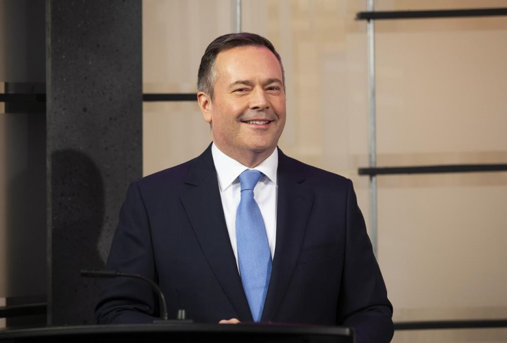 United Conservative Party leader Jason Kenney,