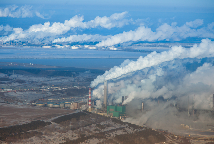 oilsands, Fort McMurray, pollution
