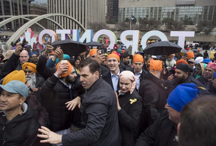 Security, Prime Minister of Canada, Justin Trudeau, Khalsa Day parade, Sikh new year,