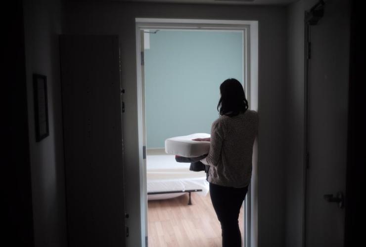 Toronto's Interval House, emergency shelter for women,
