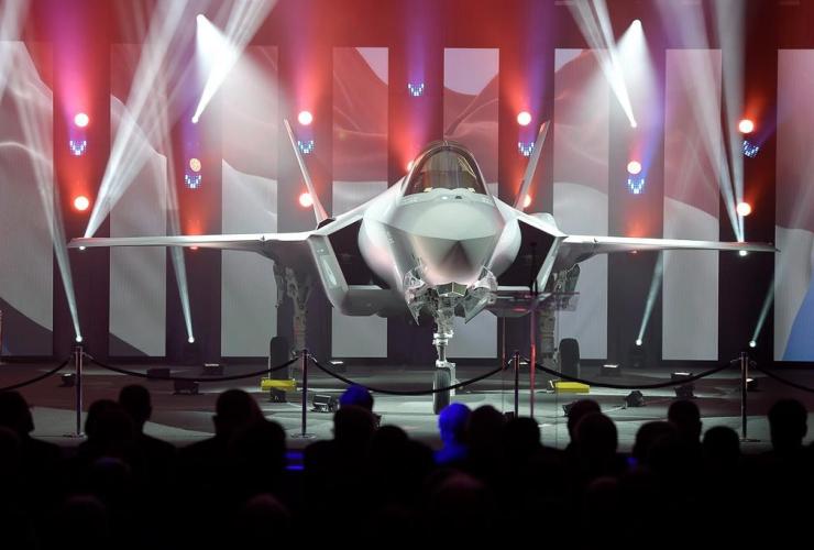 F-35 fighter plane,