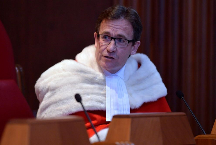 Supreme Court of Canada Justice Clement Gascon,