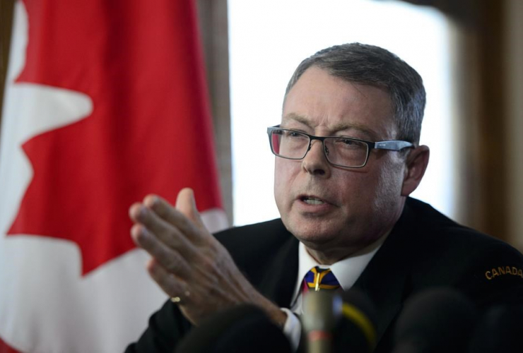 Vice Admiral Mark Norman,