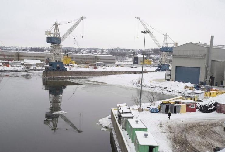 Davie shipyard, Levis,