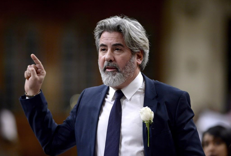 Minister of Canadian Heritage and Multiculturalism, Pablo Rodriguez,