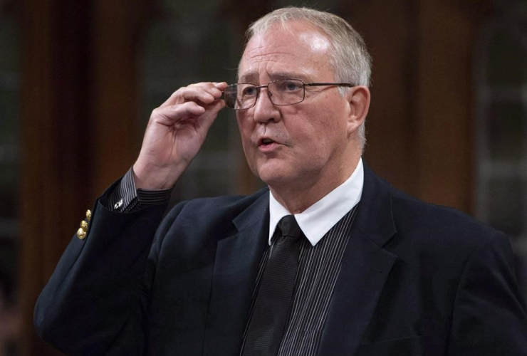 Minister of Border Security and Organized Crime Reduction, Bill Blair,