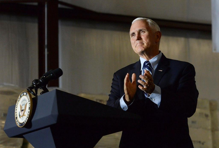 Vice President Mike Pence, Charlotte Republican National Convention,
