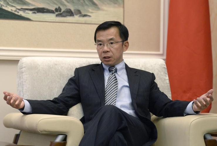 Ambassador of China to Canada, Lu Shaye,
