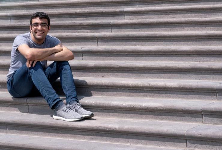 Student, Georges Awaad, McGill University, Montreal,