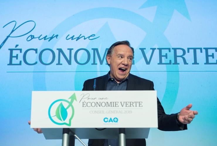 Quebec Premier, CAQ leader, Francois Legault,