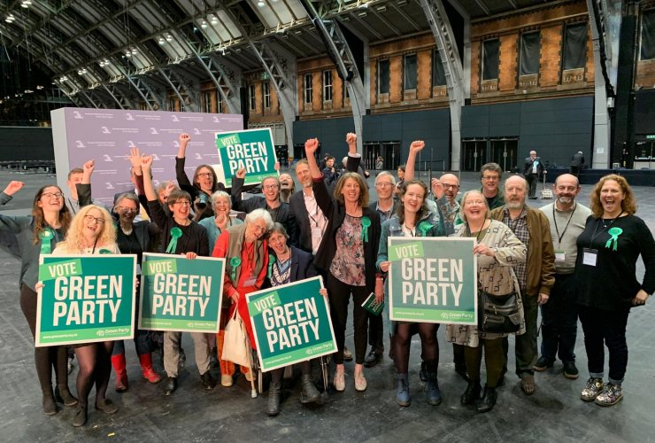 Green Party candidate wins seat in European Parliament on 27 May 2019