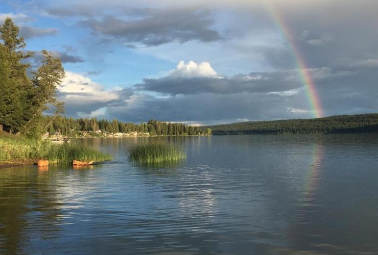 lake, Lac la Hache,