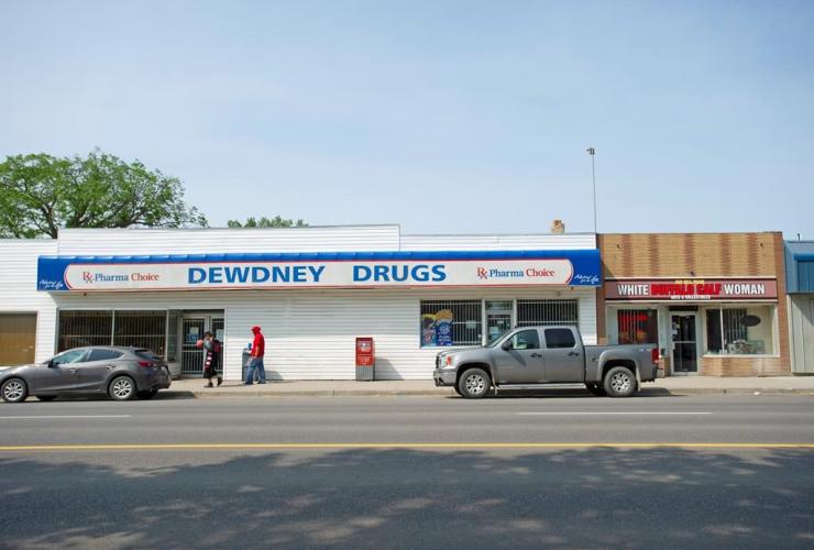 Dewdney Drugs, store, North Central Regina,