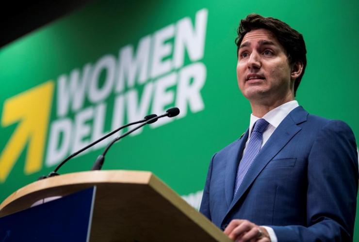 Prime Minister Justin Trudeau,  Women Deliver Conference,