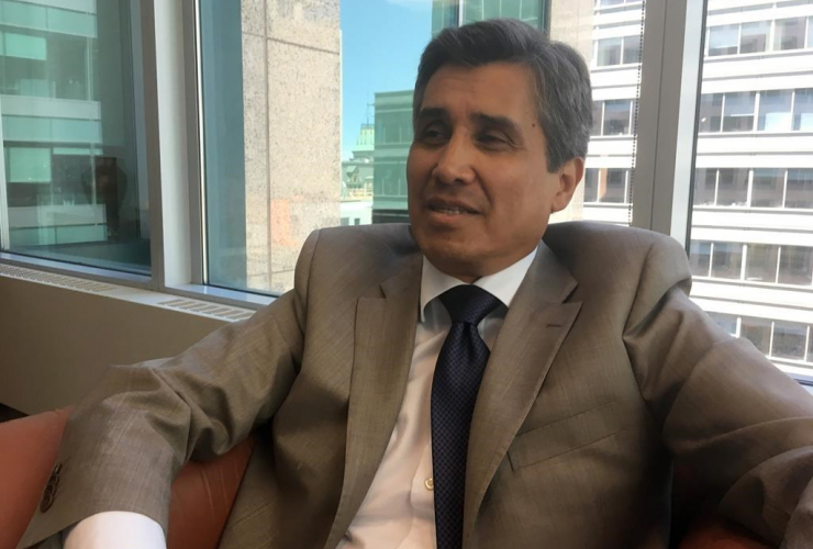 Mexican ambassador to Canada, Juan Jose Gomez Camacho,