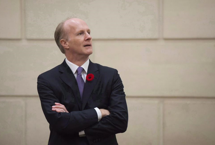 Canada Pension Plan Investment Board President, Chief Executive Officer, Mark Machin,