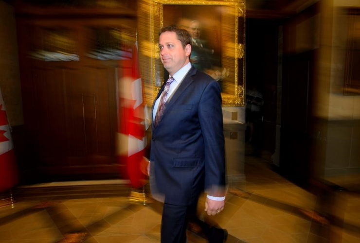 Conservative Leader Andrew Scheer,