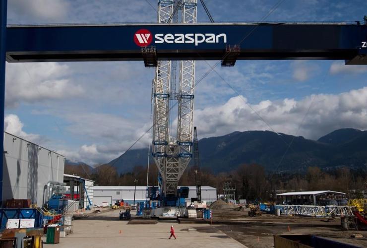 Seaspan Vancouver Shipyard,