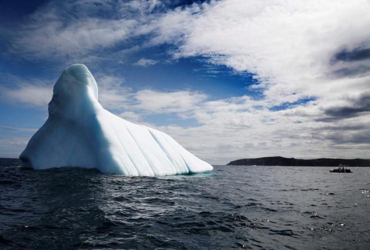 iceberg, Bonavista Bay, Newfoundland and Labrador,