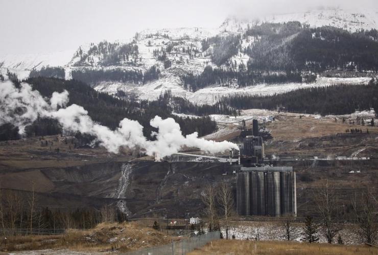 coal mining, Sparwood, B.C.,