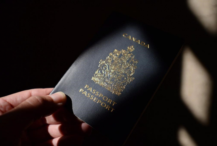 Canadian passport,