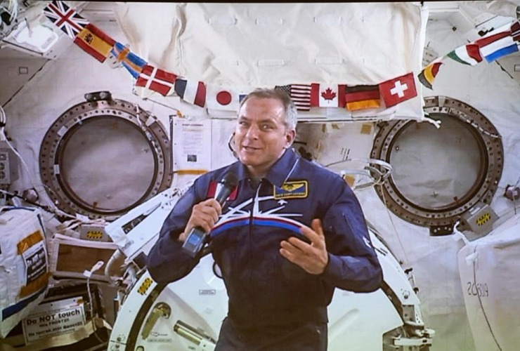 Canadian Space Agency astronaut, David Saint-Jacques,