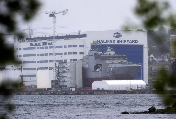 Irving Shipbuilding facility, Halifax,