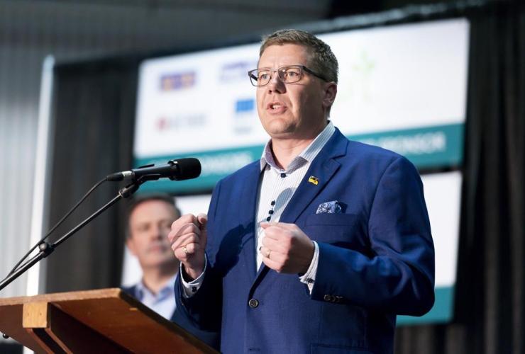 Saskatchewan Premier Scott Moe,