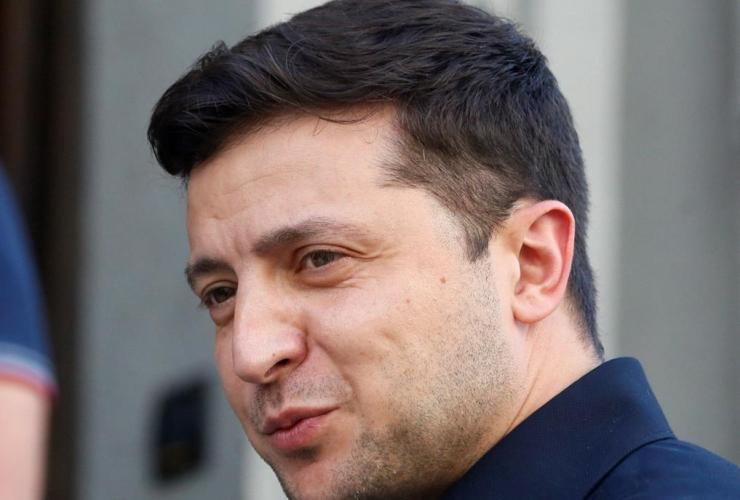 Ukrainian President Volodymyr Zelenskiy,