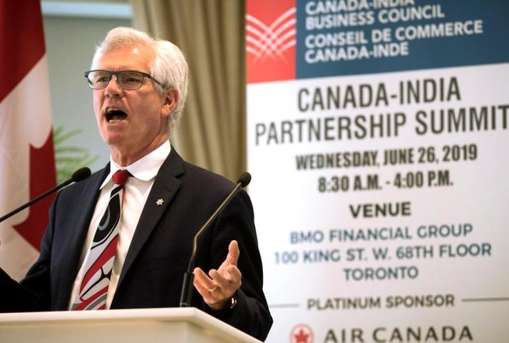 International Trade Minister Jim Carr,