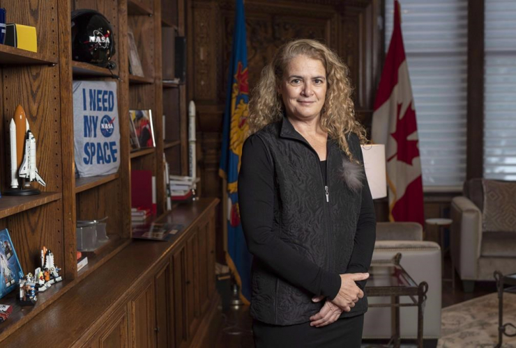 Governor General Julie Payette,