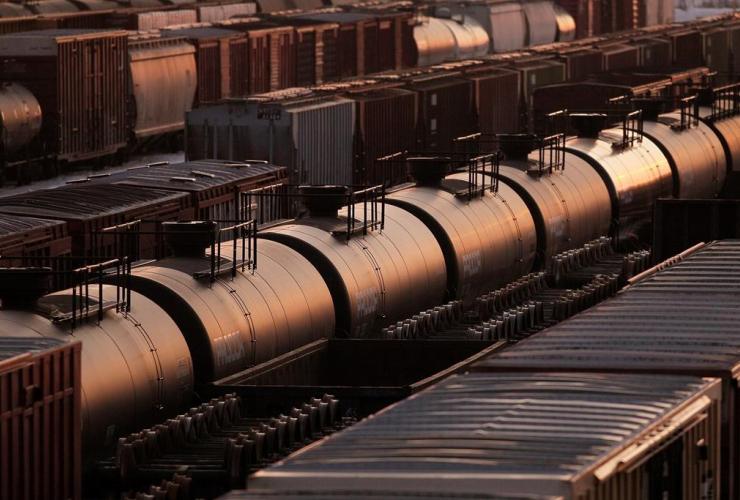 Rail cars, Winnipeg,