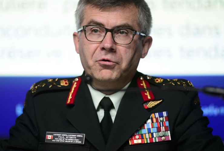 Lieutenant-General Paul Wynny,