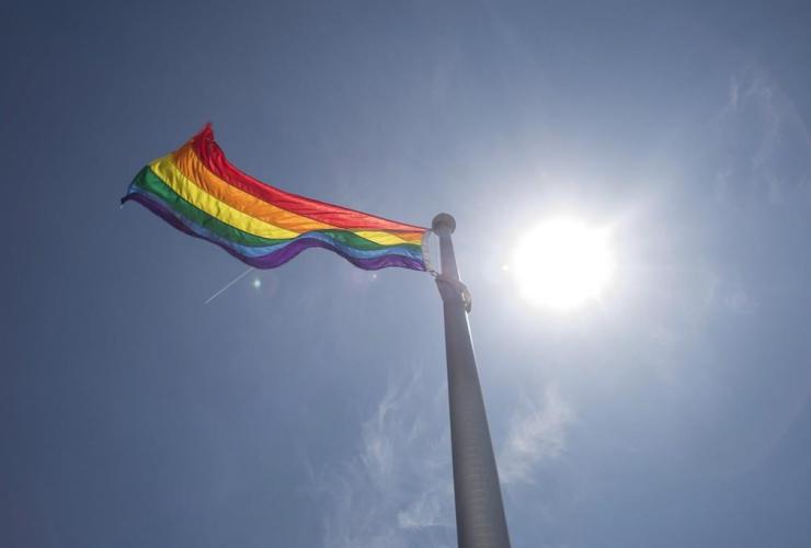 rainbow flag,