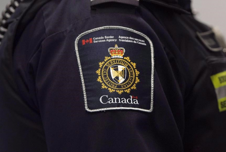 Canadian Border Services agent, Pearson International Airport, Toronto,