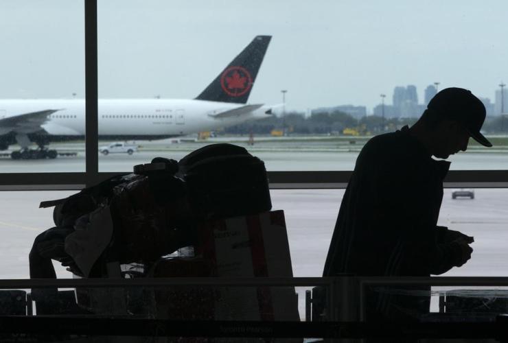 passenger, luggage, departure terminal,