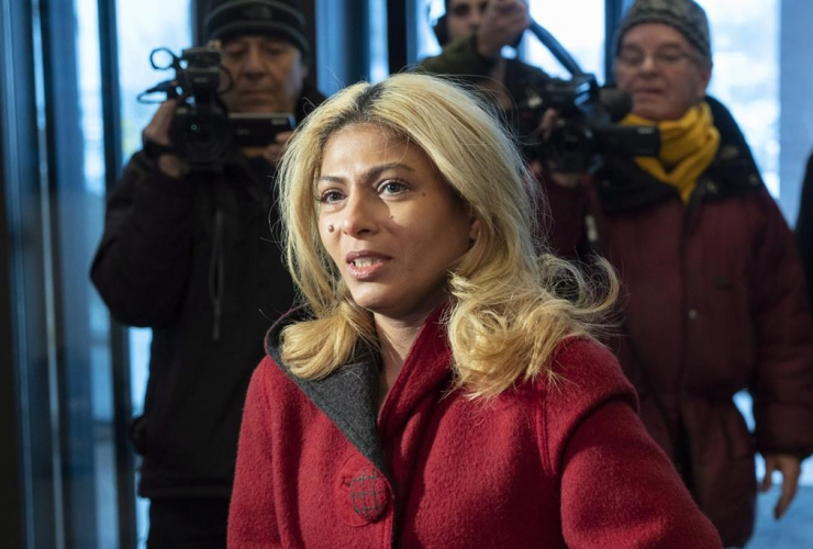 Ensaf Haidar, wife, blogger, Raif Badawi,