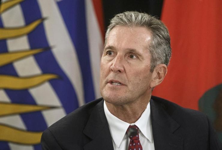 Premier of Manitoba Brian Pallister,