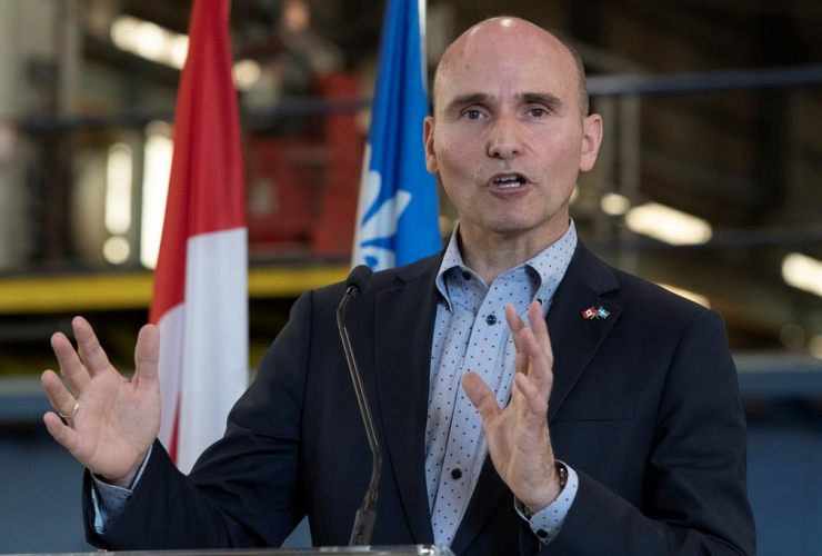 Jean-Yves Duclos, Minister of Families, Children and Social Development,