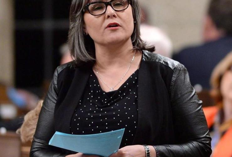 Environment Minister Leona Aglukkaq,