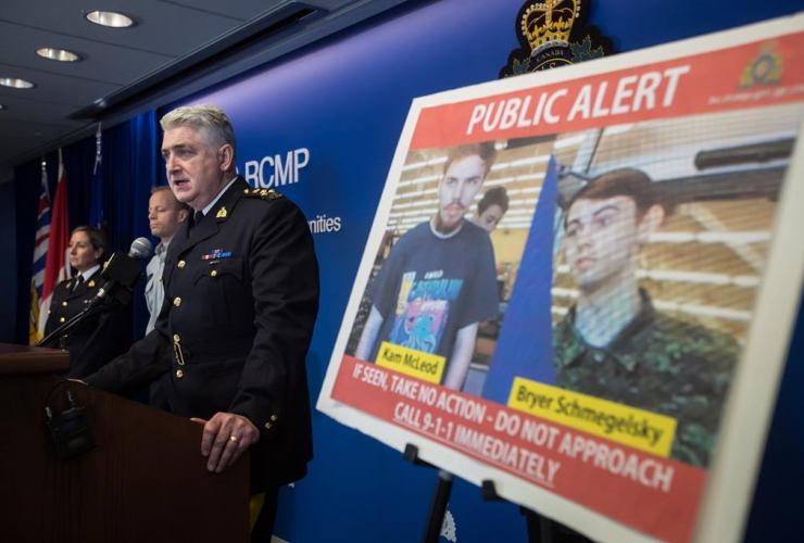 RCMP Assistant Commissioner Kevin Hackett,