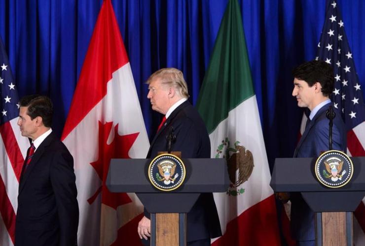 Justin Trudeau, Donald Trump, Enrique Pena Nieto, Buenos Aires, Argentina,