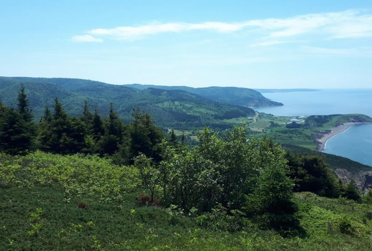 Lookoff River, Mabou Highland Conservation Land, Mabou Mines, Cape Mabou Highlands Hiking Trails,