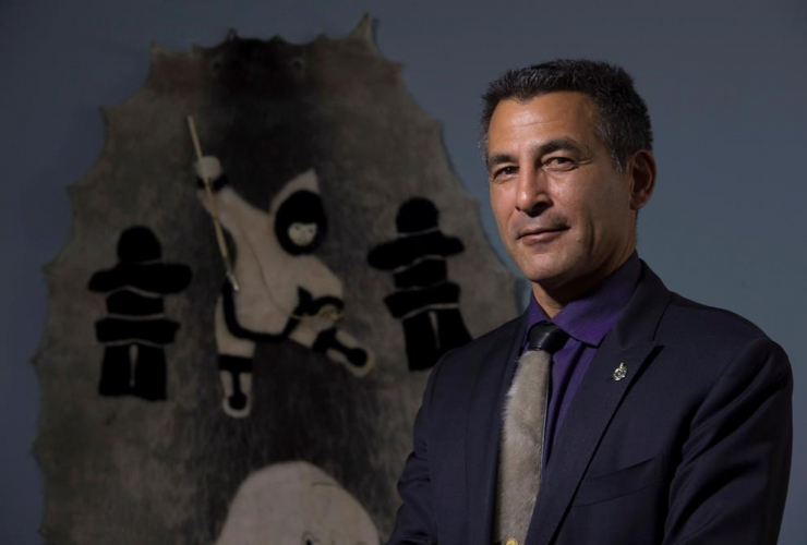 Liberal Member of Parliament, Nunavut, Hunter Tootoo,
