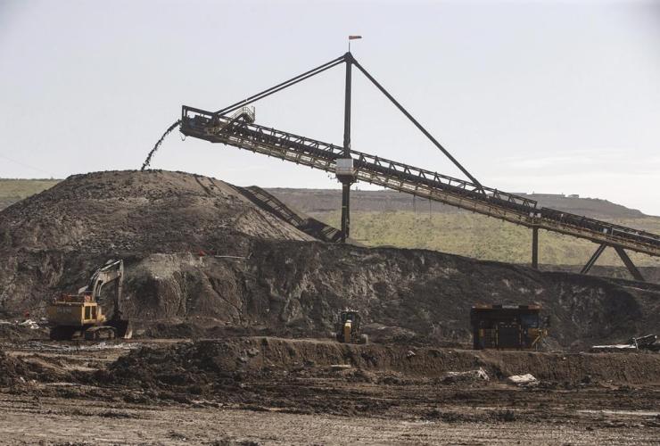hopper, Suncor, Millennium mine, oil sands,