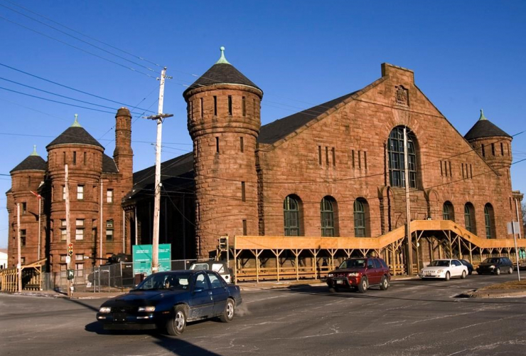 Halifax Armoury, heritage building, National Defence,